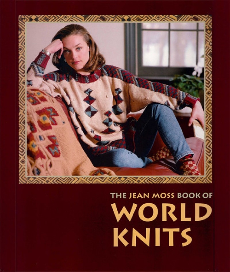 The JEAN MOSS book of WORLD KNITS (4)