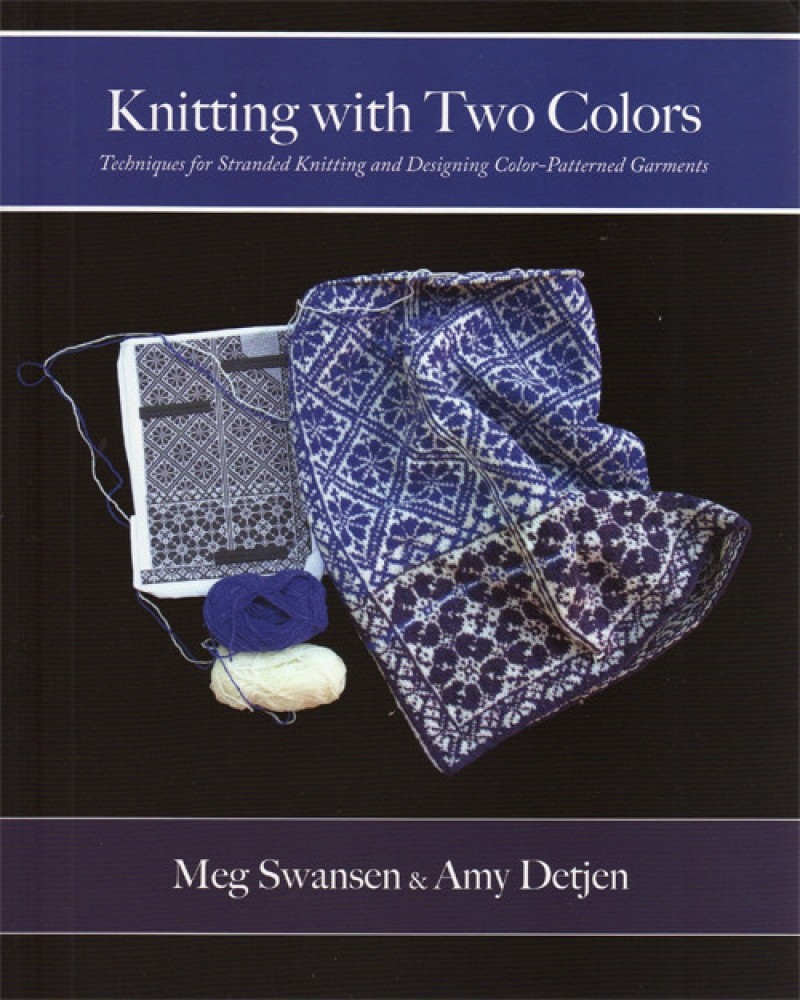 Knitting with 2 colors (2)