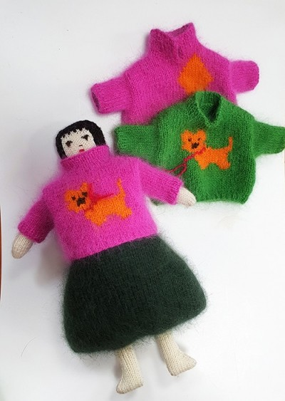 Funny Doll Package by myKnit
